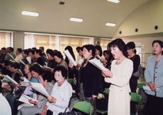 洲高校歌斉唱